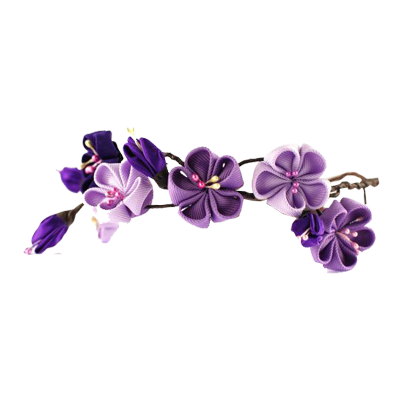 Flower crown transparent png. Purple flowers healthy wedding
