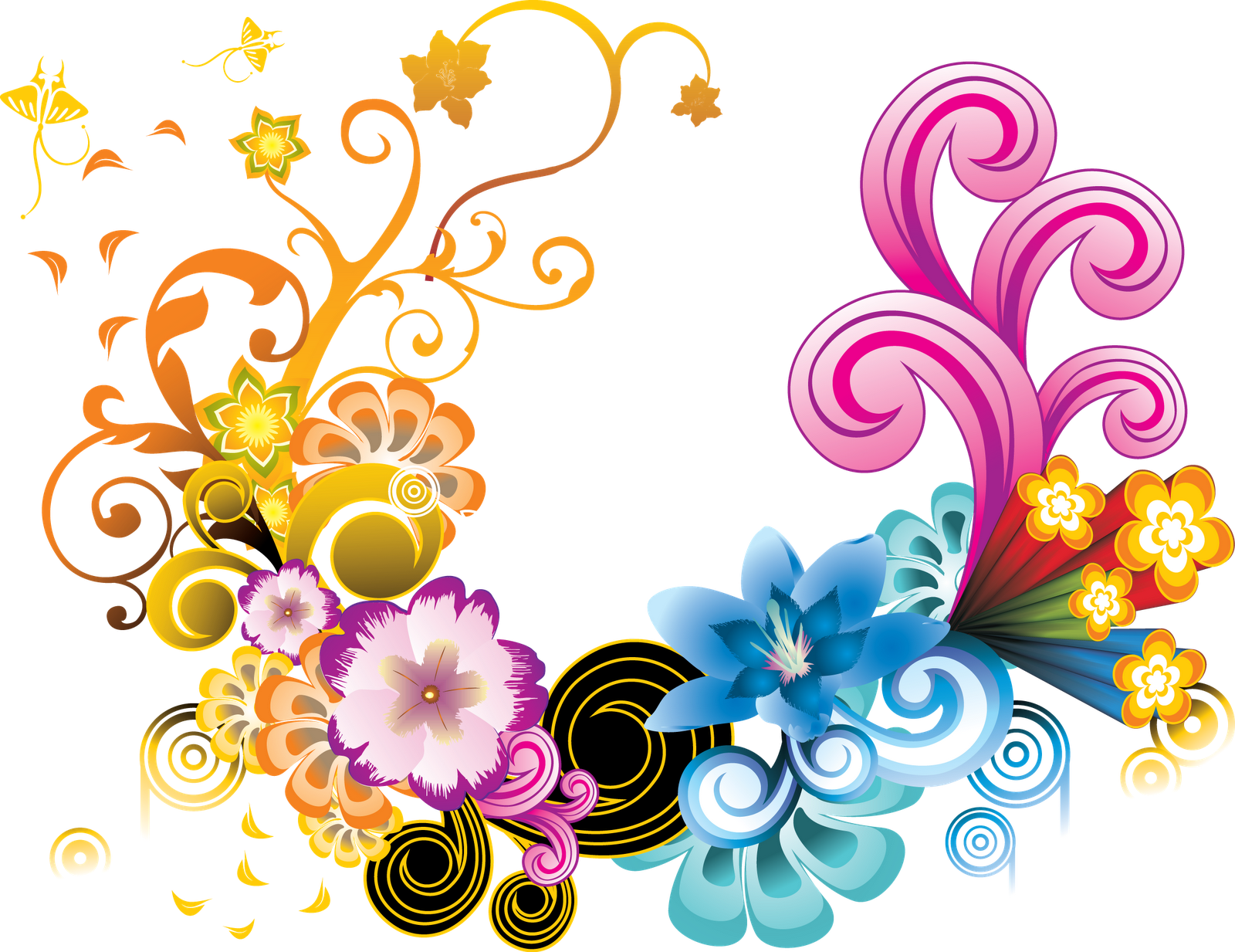 Flower design png. Fantasy my blog
