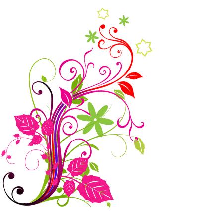 Floral image. Flower design png