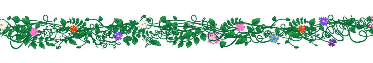 Image fern animal jam. Flower divider png