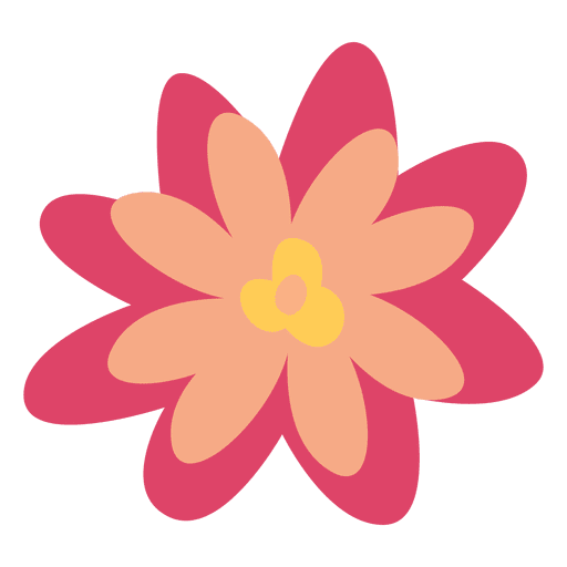 Illustration simple transparent svg. Flower doodle png