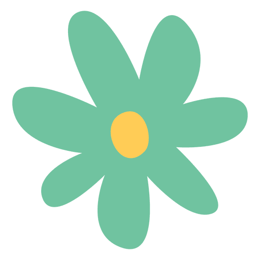 Flower doodle png. Icon illustration transparent svg