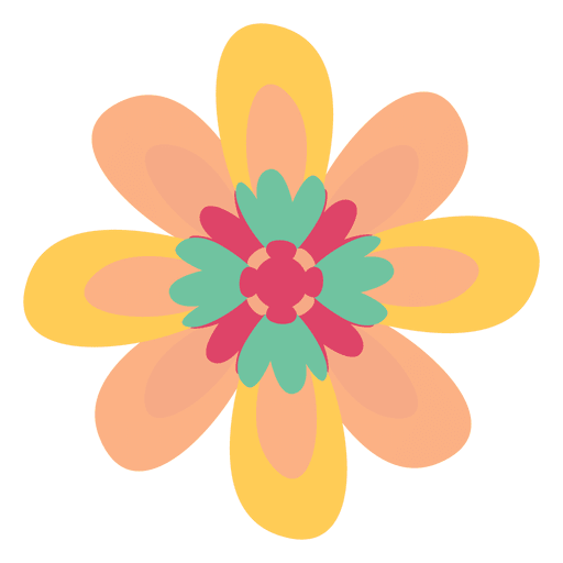 Flower drawing png. Doodle illustration transparent svg