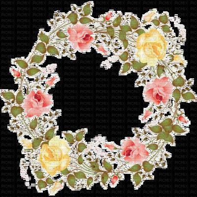 a c florals. Flower garland png