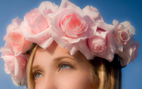 Flower headband png. Tumblr mkctk psdp s