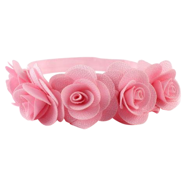 Girls floral mini sesame. Flower headband png