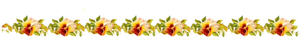 Border line png.  flower for free
