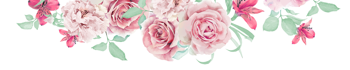 Flower line png.  of flowers for