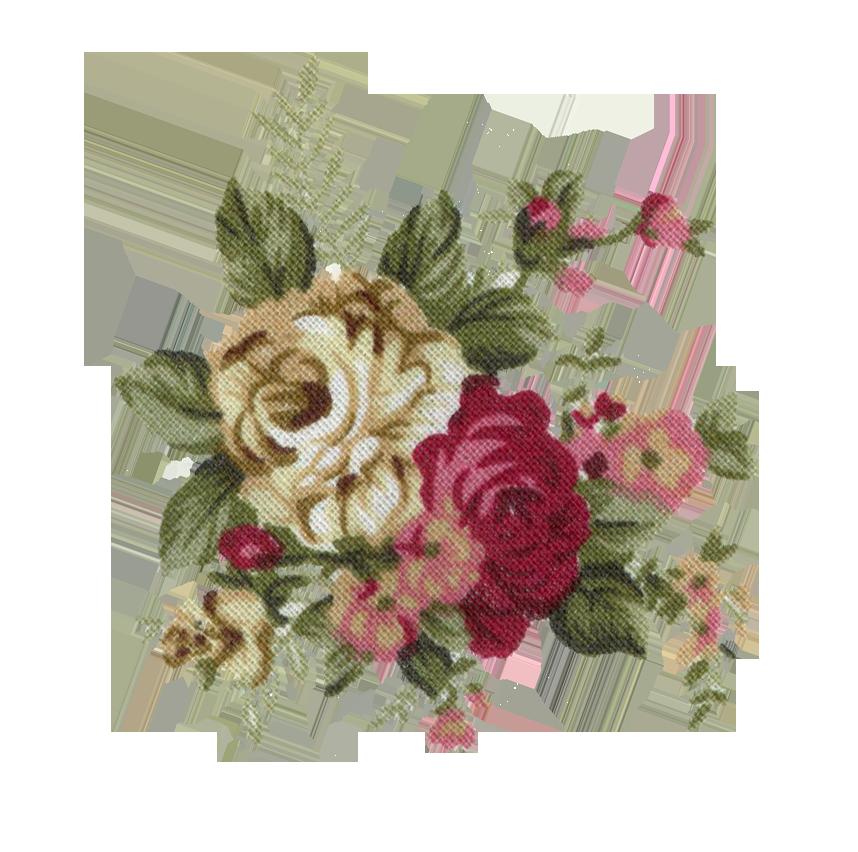 Image tumblr static print. Flower vintage png