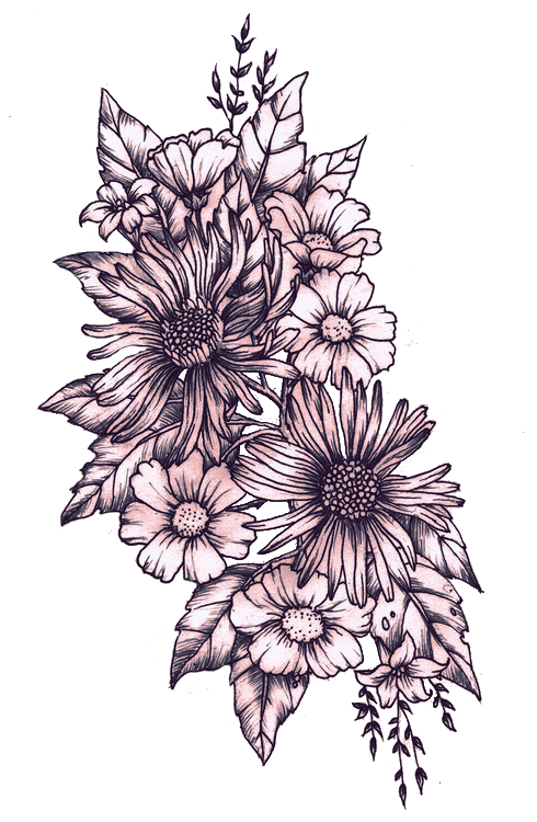 Most popular tags for. Flower tattoo png
