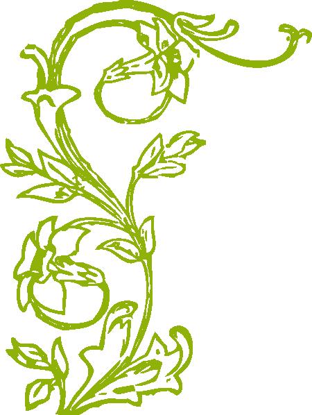 Flower vines png. Clip art at clker