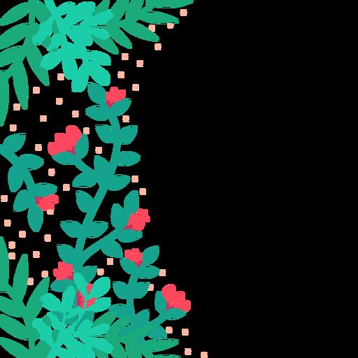 Red background transparent svg. Flower vines png