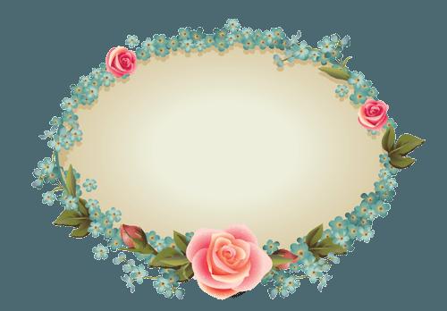 Flower vintage png. Design free logo flowers