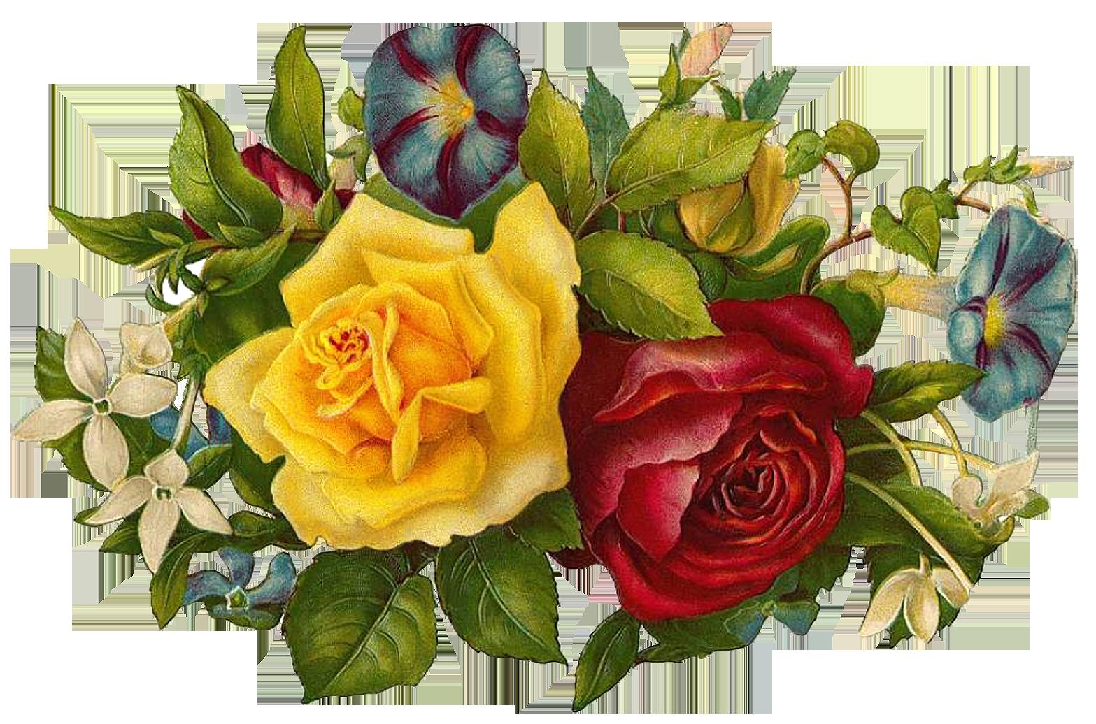 Image free printable images. Flower vintage png