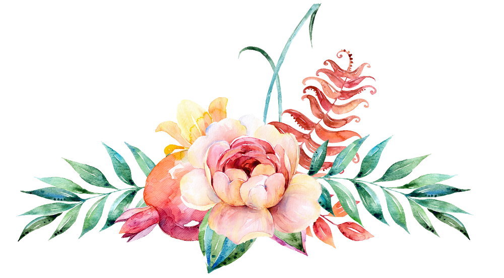 Watercolor flower border png. Watercolour peoplepng com