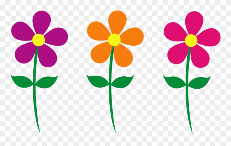 Of singles transparent background. Flowers clipart
