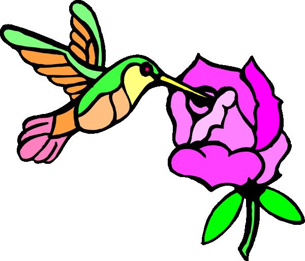 Hummingbird clipart svg free. With flower clip art