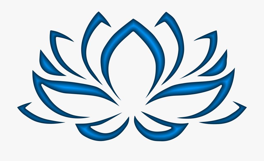 Lotus clipart blue lotus. Flowers flower symbol of