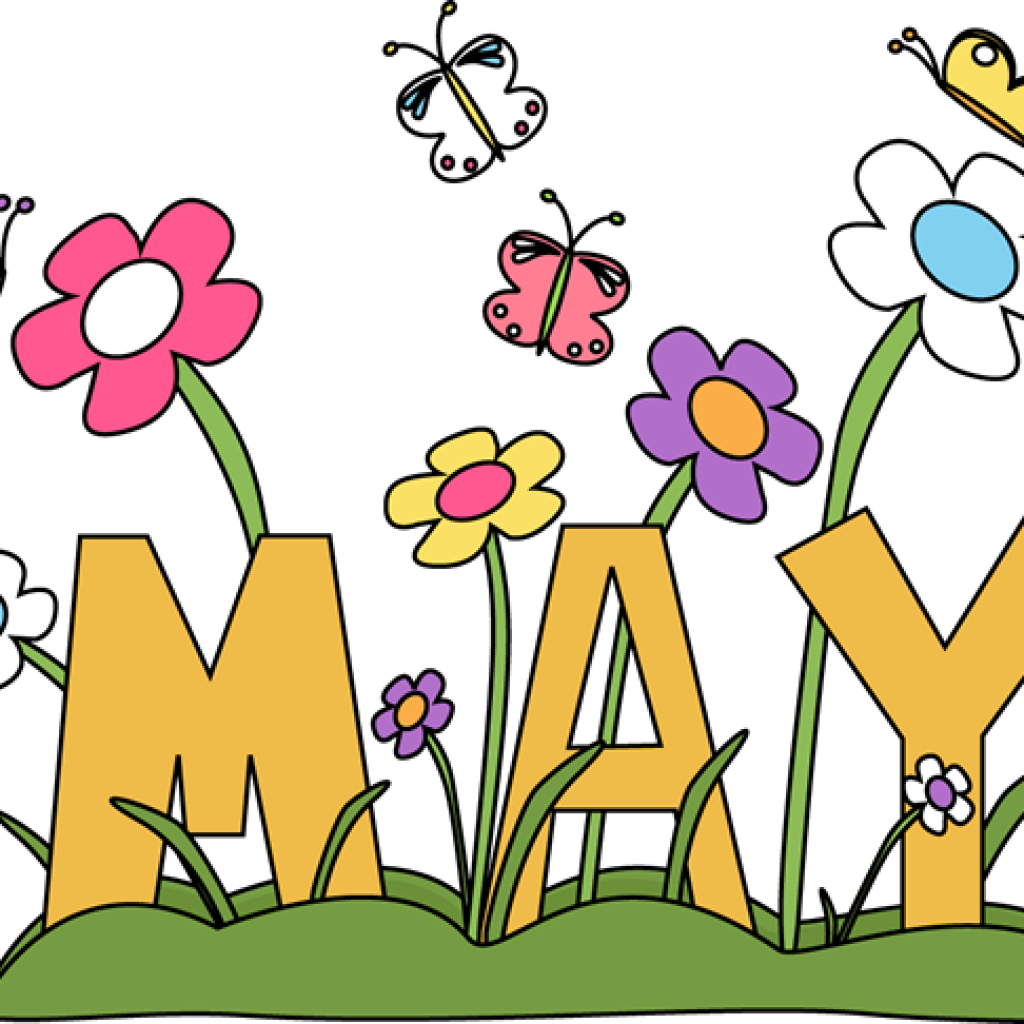 Free may clip art. Mayflower clipart april shower