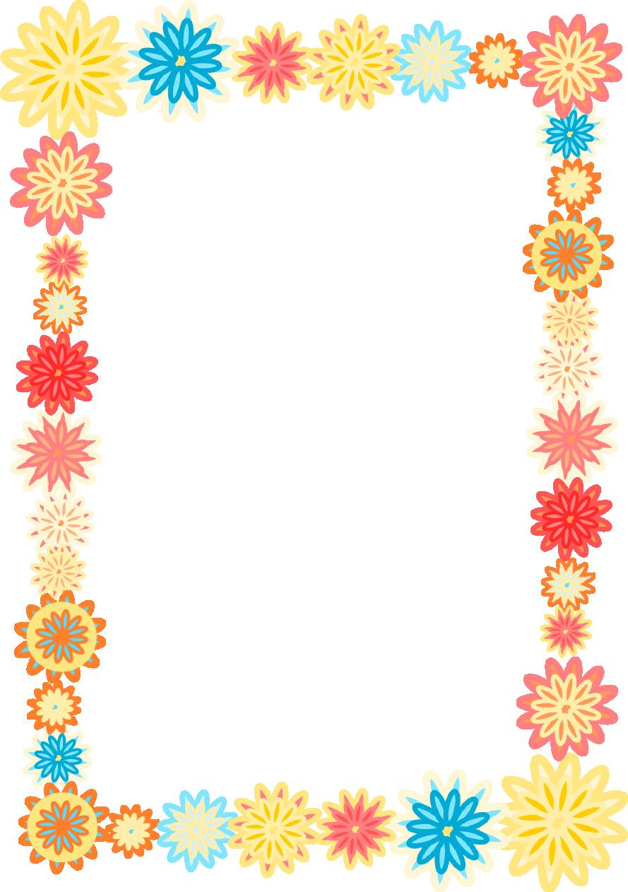 Frame clipart colorful. Meinlilapark paper crafts pinterest