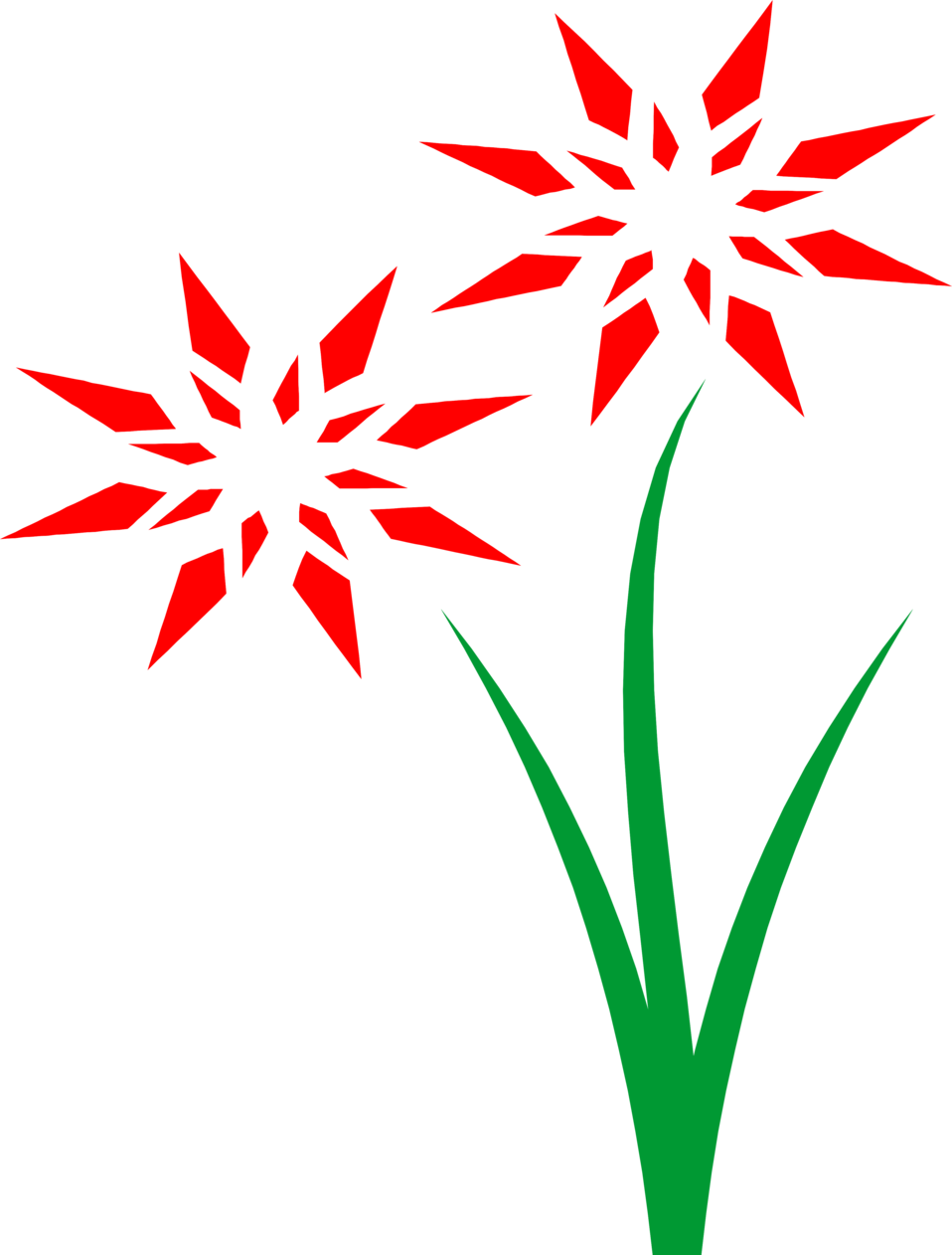 Red free stock photo. Flowers clipart landscape