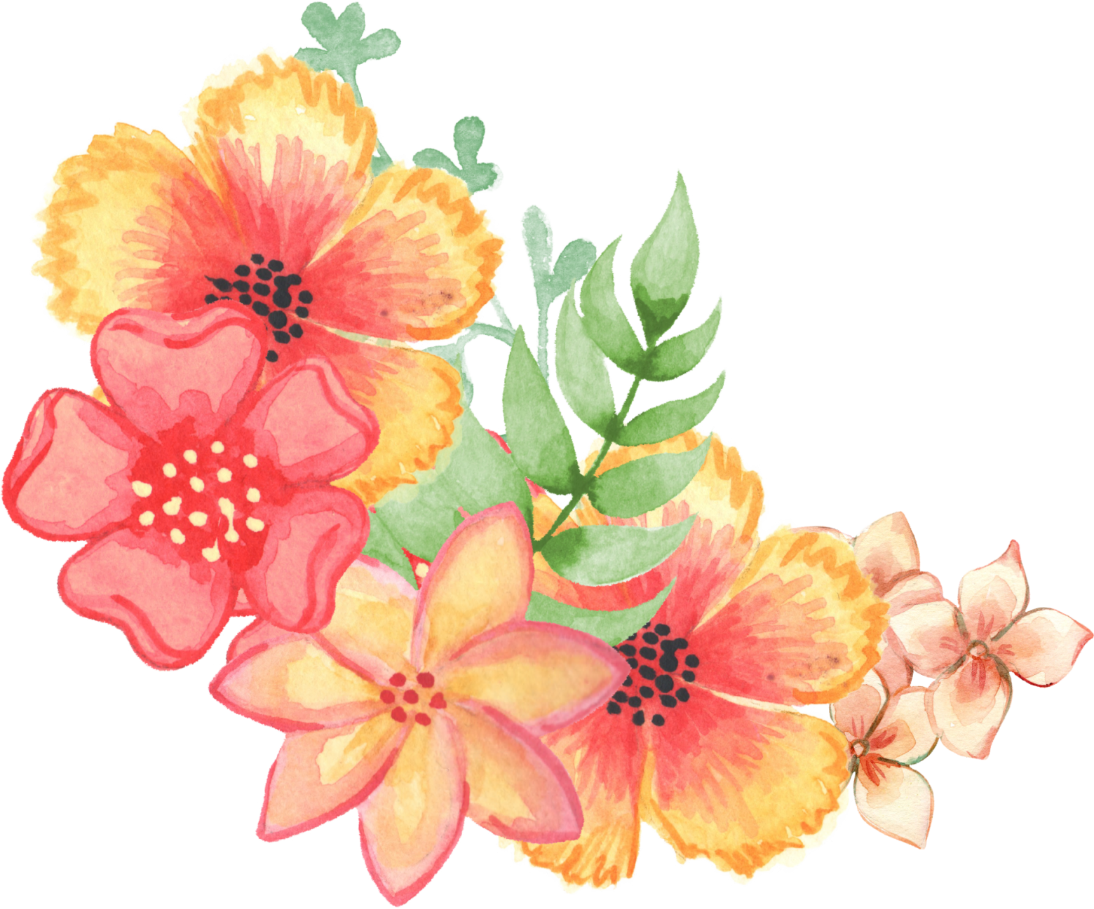 Hibiscus clipart wedding hawaii. Scrapbooking invitation flower bouquet