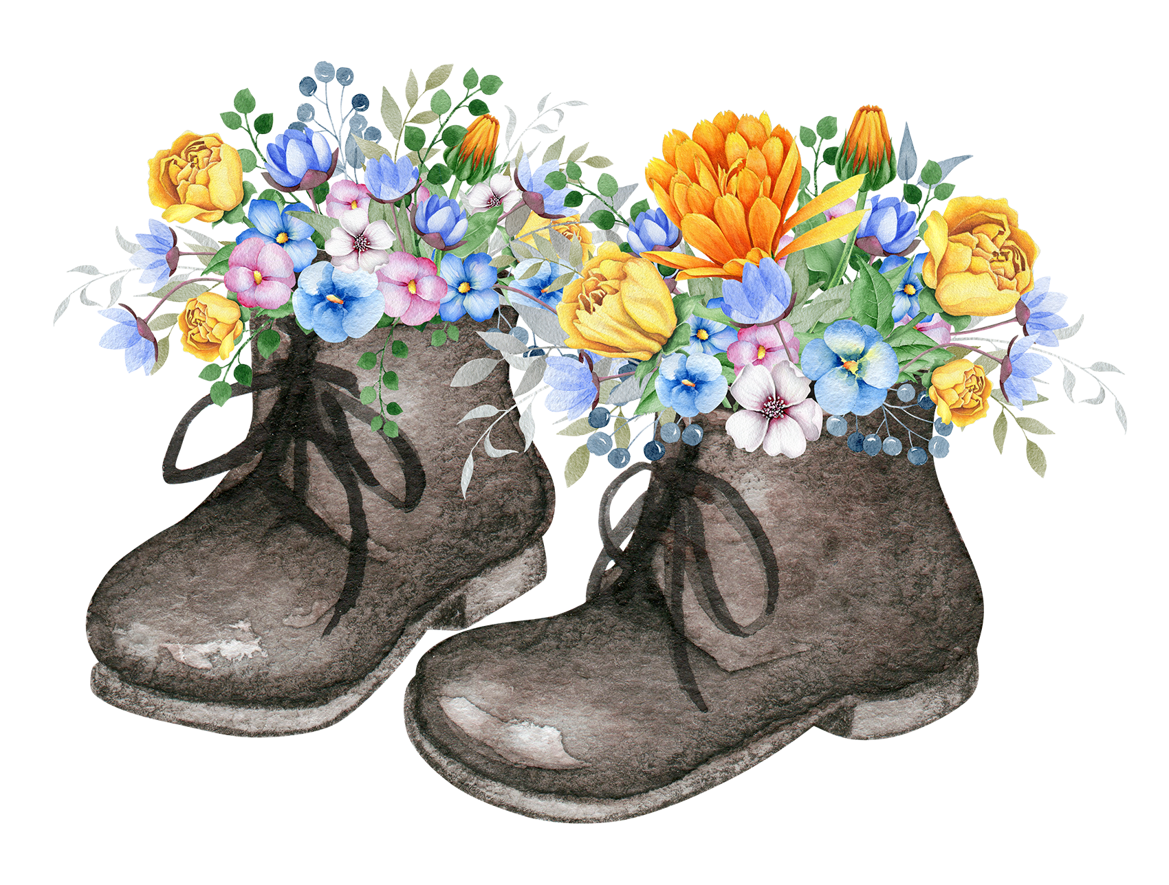 Flowers clipart shoe. Pin by on pinterest