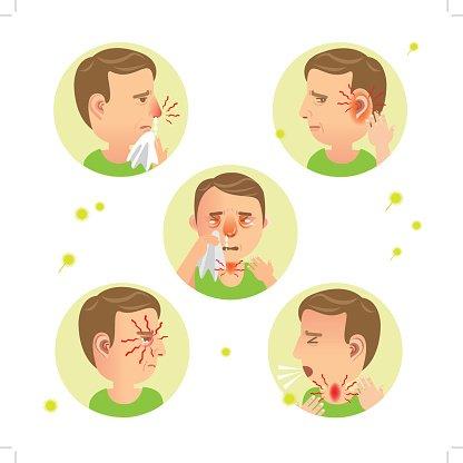 Flu clipart allergic rhinitis. Premium clipartlogo com
