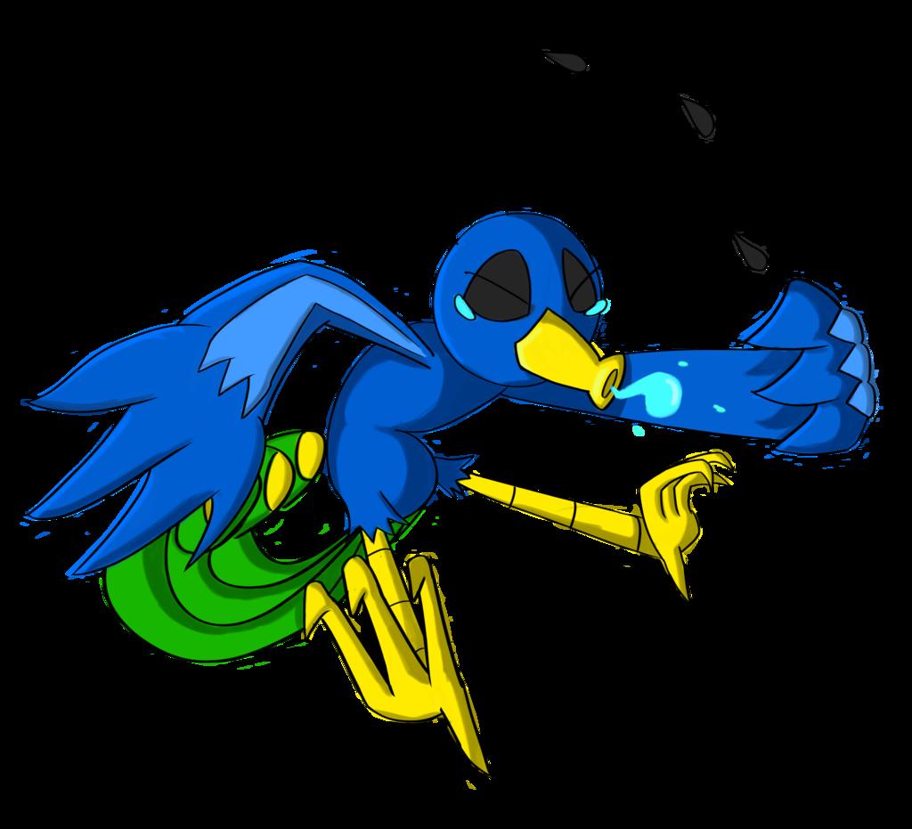 Flu clipart cartoon. Bird by axolotlet on