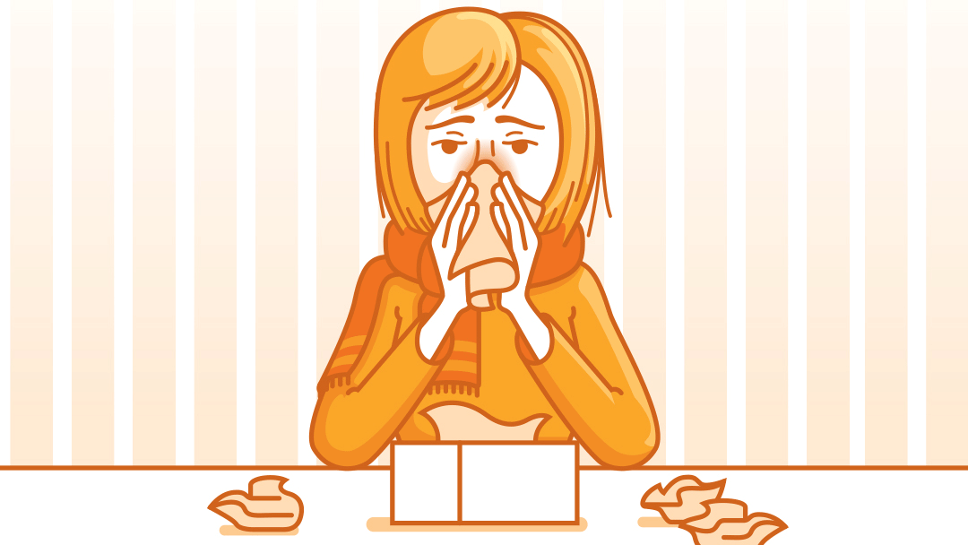 Flu clipart cold flu. Rest is best for