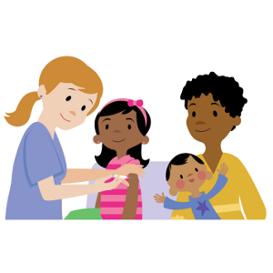 Get your vaccine at. Flu clipart family