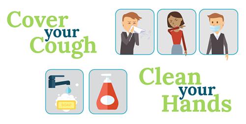 Flu clipart family. Prevention