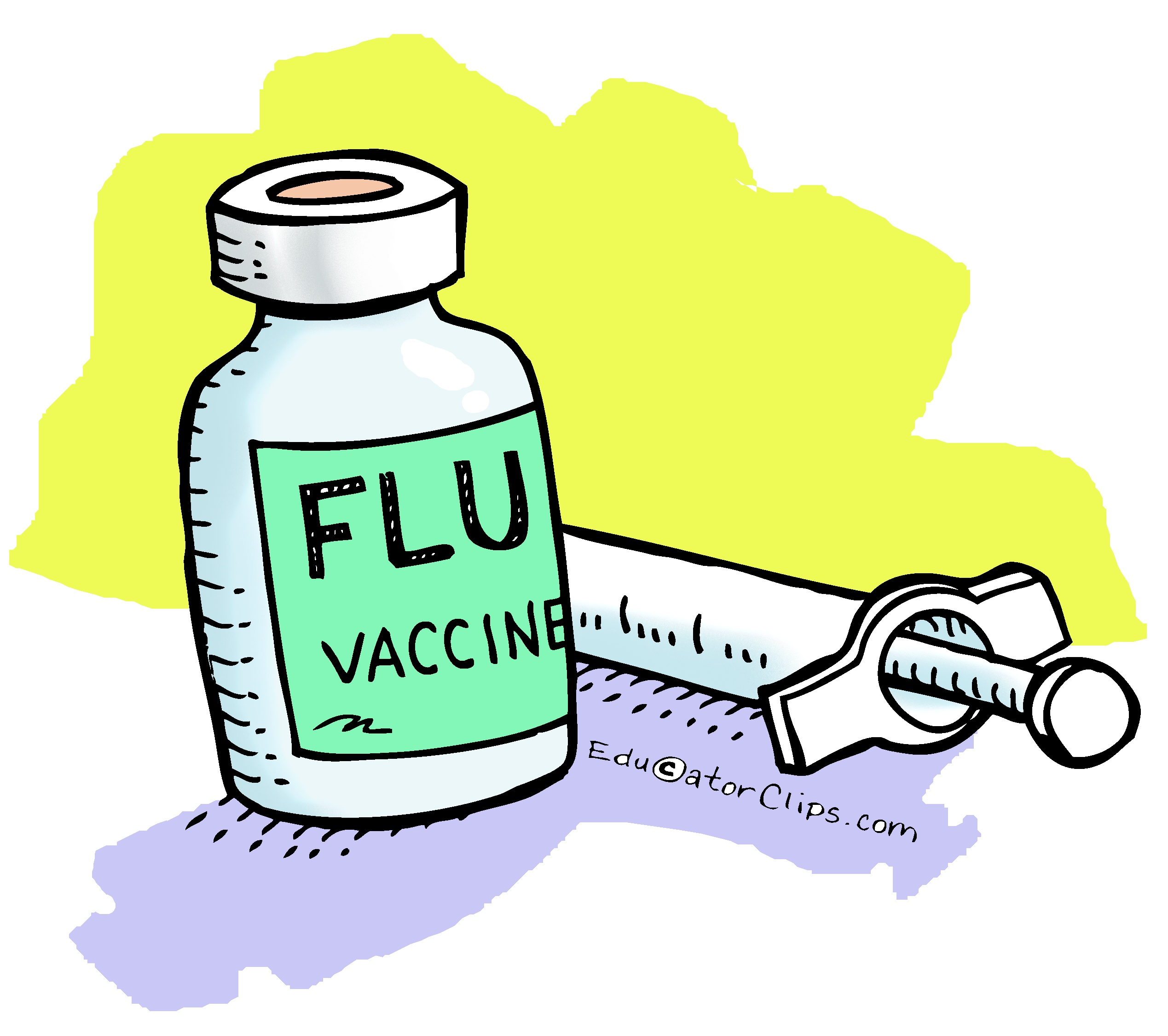Flu clipart flu shot. Vaccine clip art