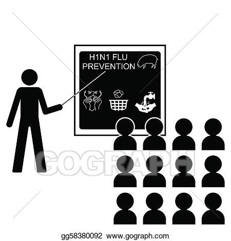 Eps illustration prevention vector. Flu clipart flue