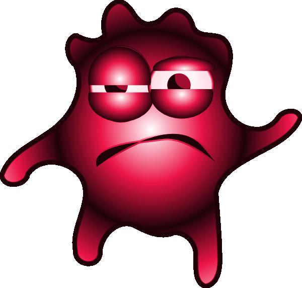 Heartbeat clipart prognosis. Pathogens red bug
