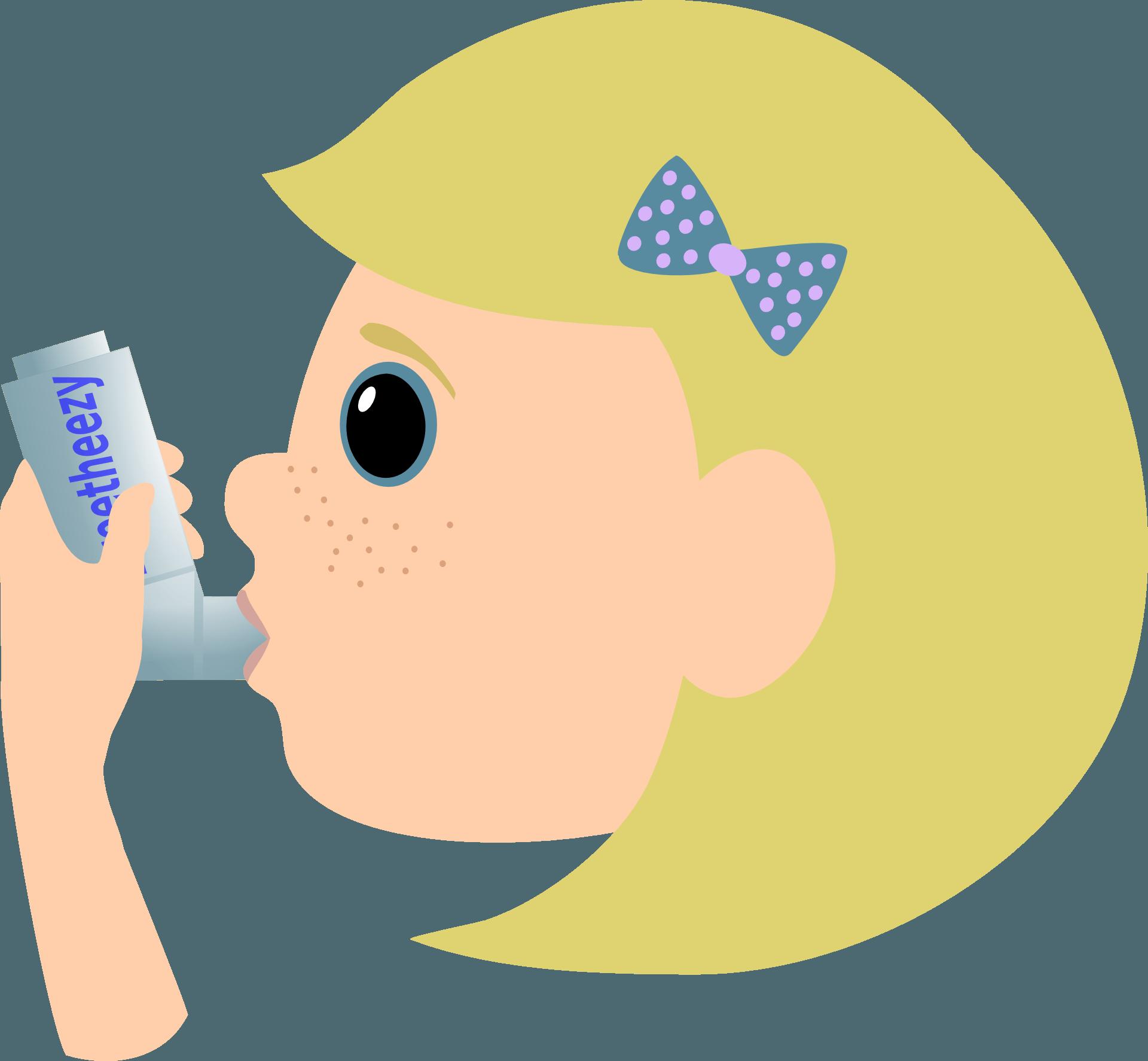 Flu clipart phlegm. Asthma steroid inhalers you