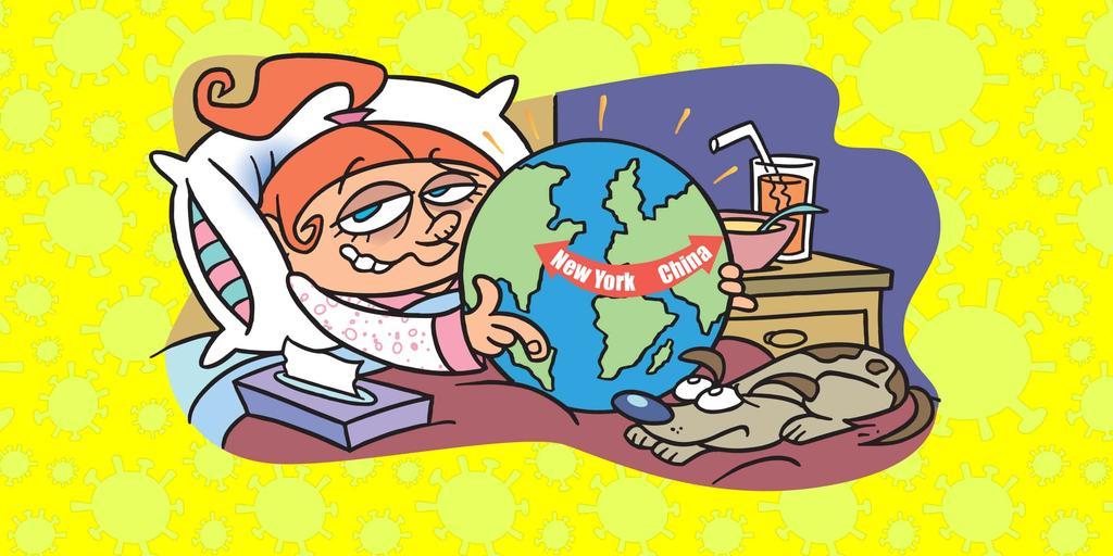 Flu clipart sick human. How lou got the