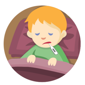 The a guide for. Flu clipart sick kid