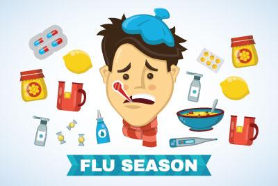Flu clipart sick student. Fight the qatar university
