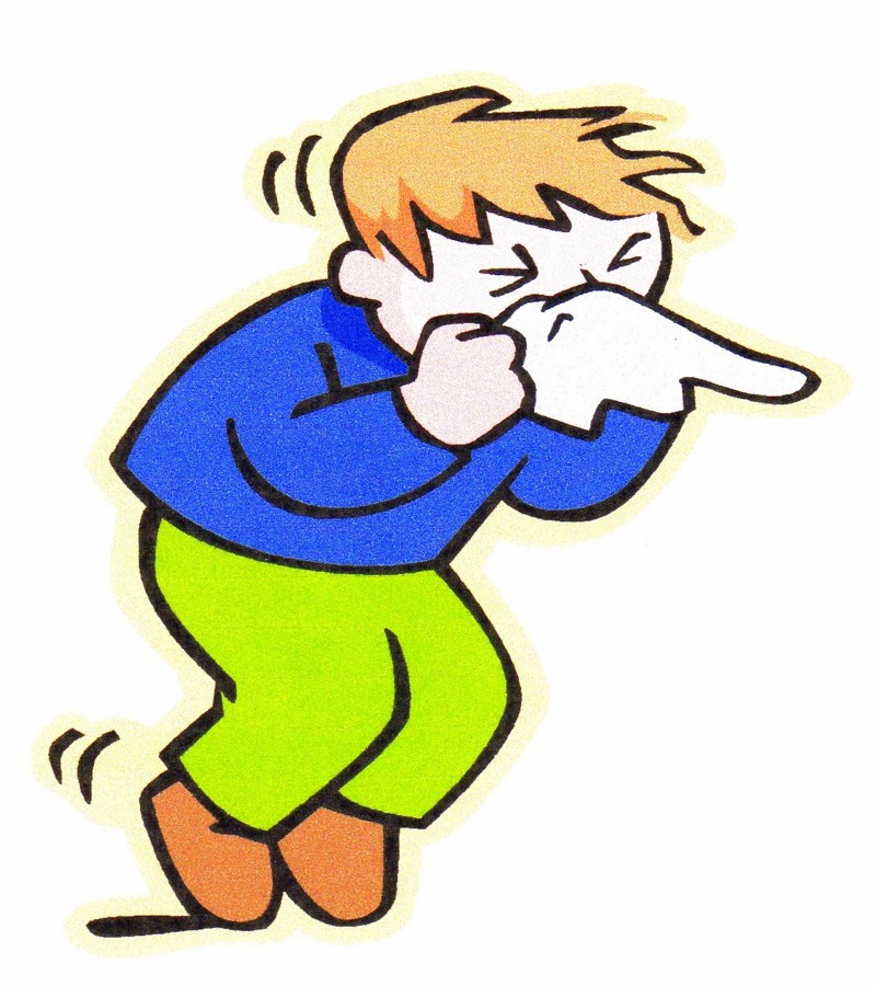 Flu clipart sneeze. Free cold and pictures