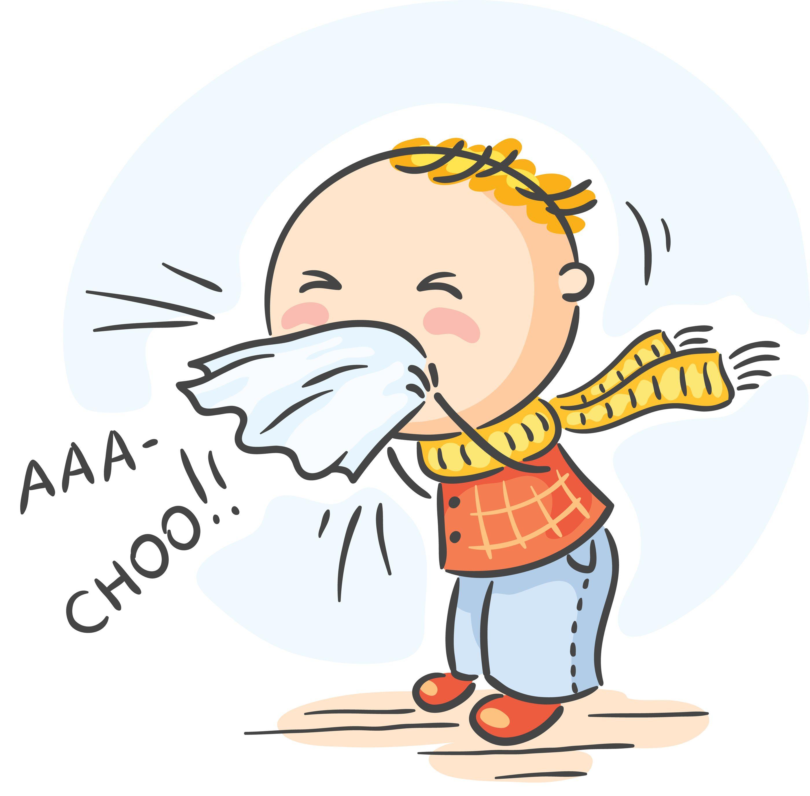 Pin on man . Flu clipart summer