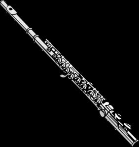 Clip art at clker. Flute clipart