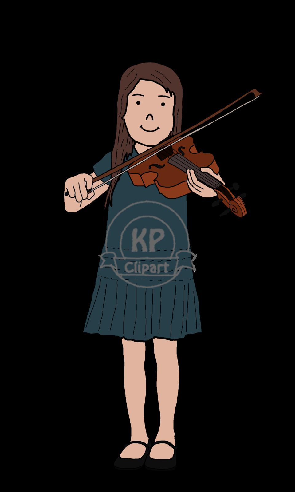 Kp friends playing music. Flutes clipart violin teacher