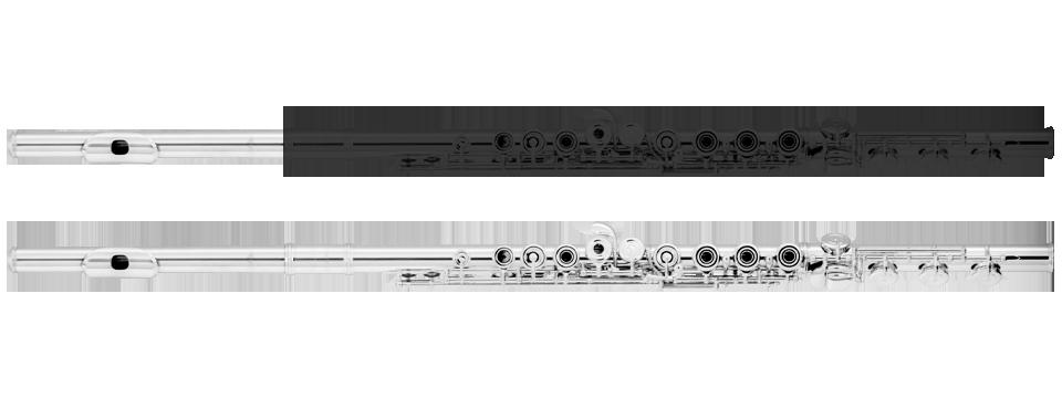Flutes clipart oboe. Step up flute azumi