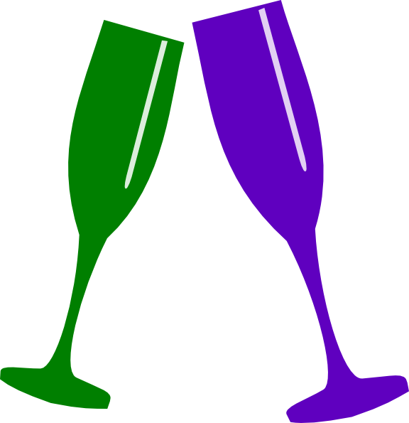 Champagne glass green pinterest. Flutes clipart clip art