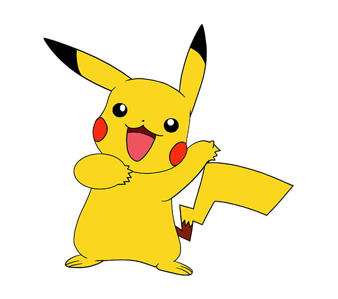 Pikachu drawing at getdrawings. Pokemon clipart easy