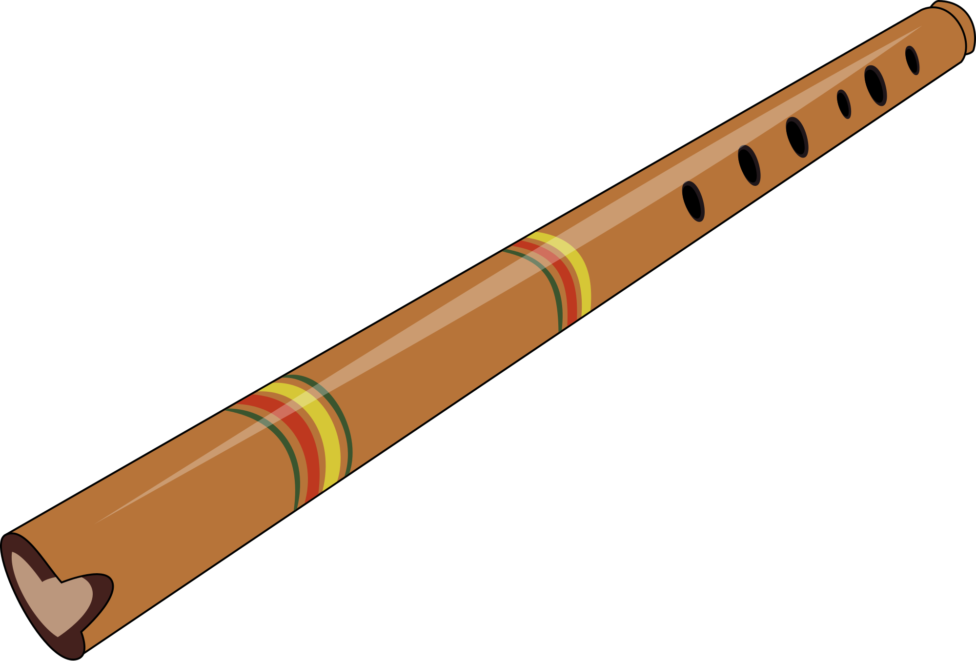Quena svg wikimedia commons. Flutes clipart file