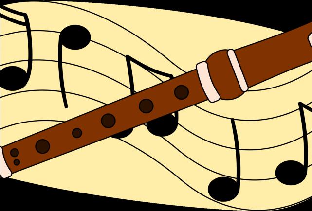 Hd fluted flute . Flutes clipart music classroom