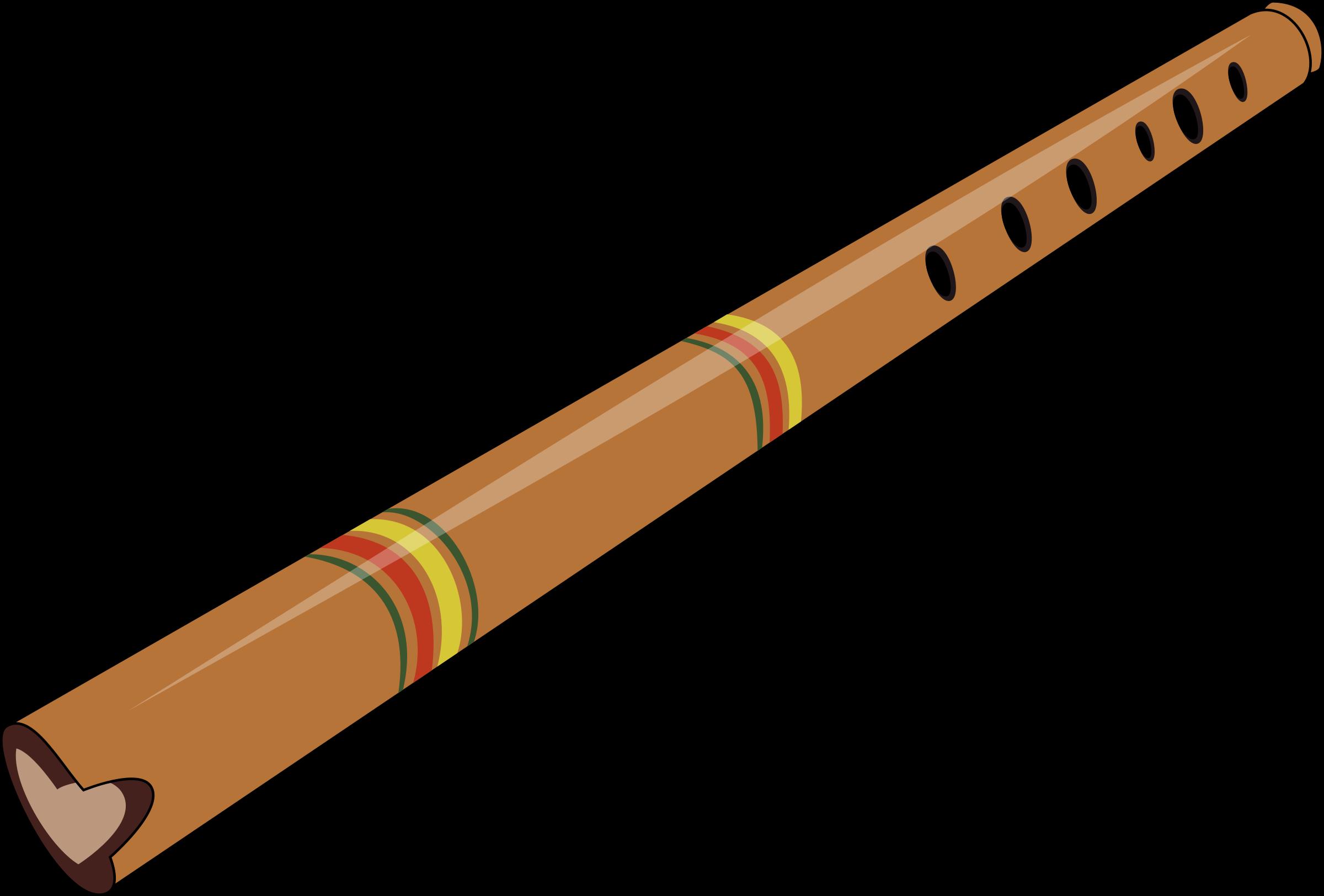 Flutes clipart wind instrument. Quena big image png