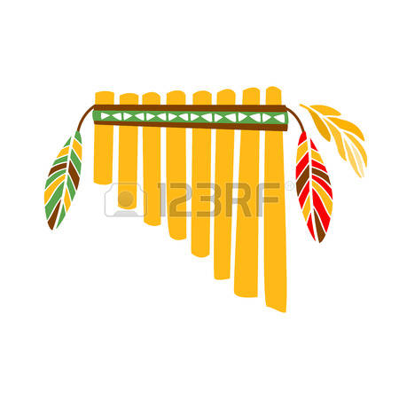 Flute clipart native american flute. Indian station